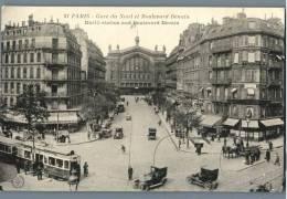 Paris - Gare Du Nord Et Boulevard Denain - France - Plätze