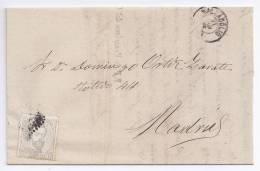 España - Primer Centenario - Carta Completa - Cartas