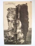 Cpa, Très Belle Vue, Cours, Ruines Du Château D'Estieugue - Autres Communes