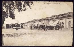 PIACENZA       STAZIONE  TRAM    Cartolina
