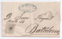 España - Primer Centenario - Envuelta - 1870-72 Regencia