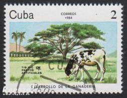 1984 - CUBA - Scott 2729 - Cattle/Bovins - Cuba