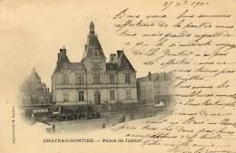 CPA   53   CHATEAU-GONTIER---PALAIS DE JUSTICE---PRECURSEUR---19 01 - Chateau Gontier