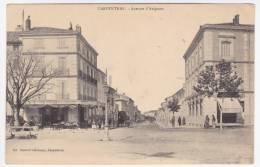 CPA - CARPENTRAS (Vaucluse) - Avenue D'Avignon - Carpentras