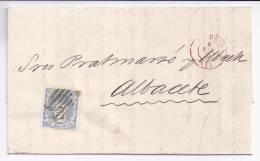 España - Primer Centenario - Carta Completa - 1870-72 Regencia