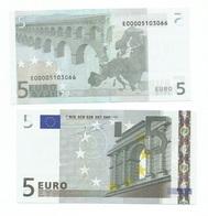 5 EURO  TRICHET E SLOVACCHIA  E010 .. E000051.. UNC  RARA - 5 Euro