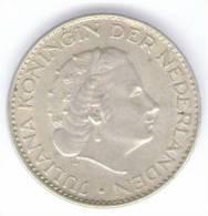 PAESI BASSI 1 GULDEN 1965 AG - [ 3] 1815-… : Regno Dei Paesi Bassi