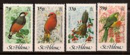 ST HELENA 1983 BIRDS SC # 394-397 MNH - St. Helena