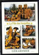 Vosges Gerardmer Fete Jonquilles Quasimodo N.D Paris Lucky Luke Train  éditions Yvon 10.88.0421 - Gerardmer