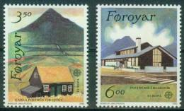 Färöer  1990  Europa - Postalische Einrichtungen  (2 ** (MNH) Kpl. )  Mi: 198-99 (3,50 EUR) - Féroé (Iles)