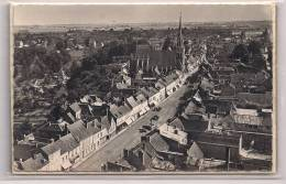 4  -  CONCHES  (Eure)  Place Carnot, Rue Ste-Foy, L'Eglise - Conches-en-Ouche
