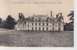 CELETTES  -  CHÂTEAU  DE  BEAUREGARD  ( FAÇADE  OUEST ) - Francia
