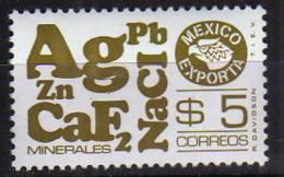 Mexique. Sigle Des Mineraux Exportes. Un T-p Neuf ** - Mexico