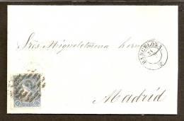 España - Primer Centenario - Carta Completa - 1850-68 Reino: Isabel II