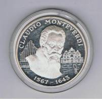 ANDORRA  10 Diners 1998 A. Monteverdi  KM146  PLATA - Andorra