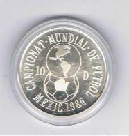 ANDORRA  10 Diners 1989 Futbol MEXICO  1986  KM34   PLATA - Andorra