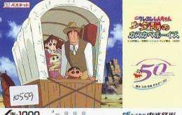 MANGA * Carte Prépayée  Japon * Cinéma *  * Animé (10.559) * KARTE * MOVIE * PREPAID CARD JAPAN - Film