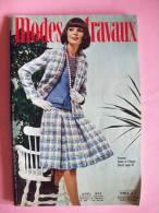 REVUE MODES ET TRAVAUX - N° 868 - Avril  1973 - Couture / Vêtement / - Mode