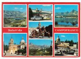 CALTANISSETTA - SALUTI DA CAMPOFRANCO - Caltanissetta