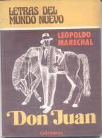 DON JUAN - LEOPOLDO MARECHAL - TEATRO DRAMA EN TRES ACTOS EDICIONES CASTAÑEDA AÑO 1978 95 PAGINAS - Theatre