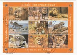 Niger  Minipliego USADO Nº 5 - Sellos