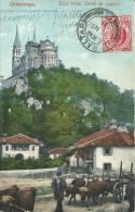Asturias - Postcard Cangas De Onis / Cavadonga - Asturia / Spain To France / St. Denis - Paris 1911 With Gibraltar Stamp - Asturias (Oviedo)