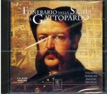 CD ROM ITINERARIO NELLA SICILIA DEL GATTOPARDO ITALIANO FRANCAIS ENGLISH DEUTSCH - CDs