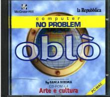 CD ROM OBLO´ ARTE E CULTURA N.4 PC MAC LA REPUBBLICA MCGRAW-HILL - CD