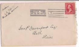 USA Commercial Cover, Stamp,   (9819) - Etats-Unis