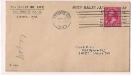 USA Commercial Cover, Postal Markings Stamp,   (9830) - Etats-Unis