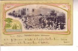 Cartoline > Europa > Svizzera-Canton SG-- St. GALLEN -- Jugendfest : Madchengruppe - SG St-Gall