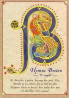 Thematiques Bretagne Hymne Breton BREIZH BRO GOHZ MA ZADOU . VIEUX PAYS DE MES PERES Lettre B - Bretagne