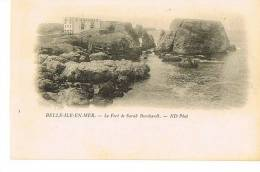 58- BELLE ILE EN MER - Le Fort De Sarah Berhardt  - ND Phot  N° 5- Cpa Dnd- SCANS RECTO VERSO - Belle Ile En Mer