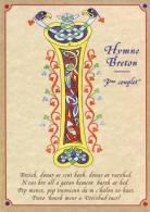 Thematiques Bretagne Hymne Breton BREIZH BRO GOHZ MA ZADOU . VIEUX PAYS DE MES PERES Lettre I - Bretagne