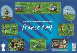 Francia 2007, Mundial Rugby. - Francia