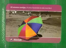 13a URUGUAY 2013 CALENDARIOS- Playa, Sombrillas - Calendars