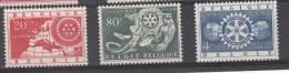 BELGIUM MNH** COB 952/54 ROTARY - Belgique