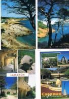 200213A Lot De 60 CPM Couleur Vierges Pour Courrier : Dep.13 Bouches Du Rhône (sans Marseille, Aix, Arles, Les Baux) - Cartes Postales