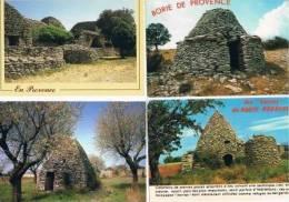 200213I Lot De 18 CPM Couleur : Dep.13 Bories De Provence - Cartes Postales