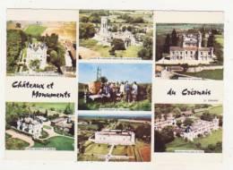 CHATEAUX ET MONUMENTS DU CREONAIS - CPSM - MULTIVUES - CHATEAU DU GRAND PUCH A ST-GERMAIN-DU-PUCH - CHATEAU BARRAULT A.. - France