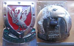 "South Africa Blood Donor; Lapel Button Badge "" HUMANITATIS CAUSA"" -  "" 1 DONATION / SKENKING"" - Organizations"