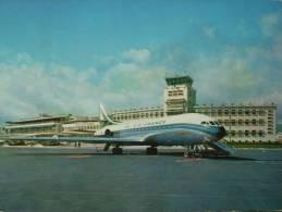 "06 - NICE - Aéroport De Nice-Côte D'Azur - La ""Caravelle"" (la Tour De Controle). CPSM - Aeronáutica - Aeropuerto"