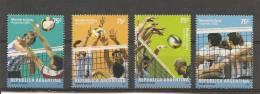 Argentina 2002, Mundial Voleibol. - Nuevos