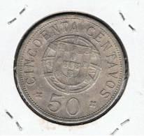 ANGOLA   50 Centavos 1928  KM69 - Angola