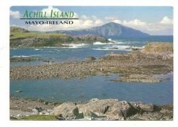 Cp, Irlande, Achill Island, Voyagée 1994