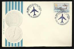 03 / 12 / 1970 - VIII EXPOSIÇÃO FILATÉLICA NACIONAL - DIA DA AEROFILATELIA - N.º 0789 - 2 SCANS - Angola