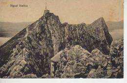 SIGNAL STATION  ESTACION DE SEÑALES  GIBRALTAR    RARISIME     OHL - Gibraltar