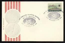 07 / 12 / 1970 - VIII EXPOSIÇÃO FILATÉLICA NACIONAL - DIA DA MARCOFILIA - N.º 0365 - 2 SCANS - Angola
