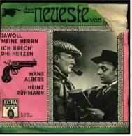 """7"""" Zoll Single : Albers, Hans , Rühmann Heinz  - EMI-Electrola / Odeon (LC 00287) O 21 954 Von Ca. 1975 - Sonstige - Deutsche Musik"""