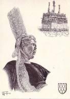 Thématiques Bretagne Coiffe Du Pays Bigouden Region De Pont Labbé Editions Henry Touleron - Bretagne